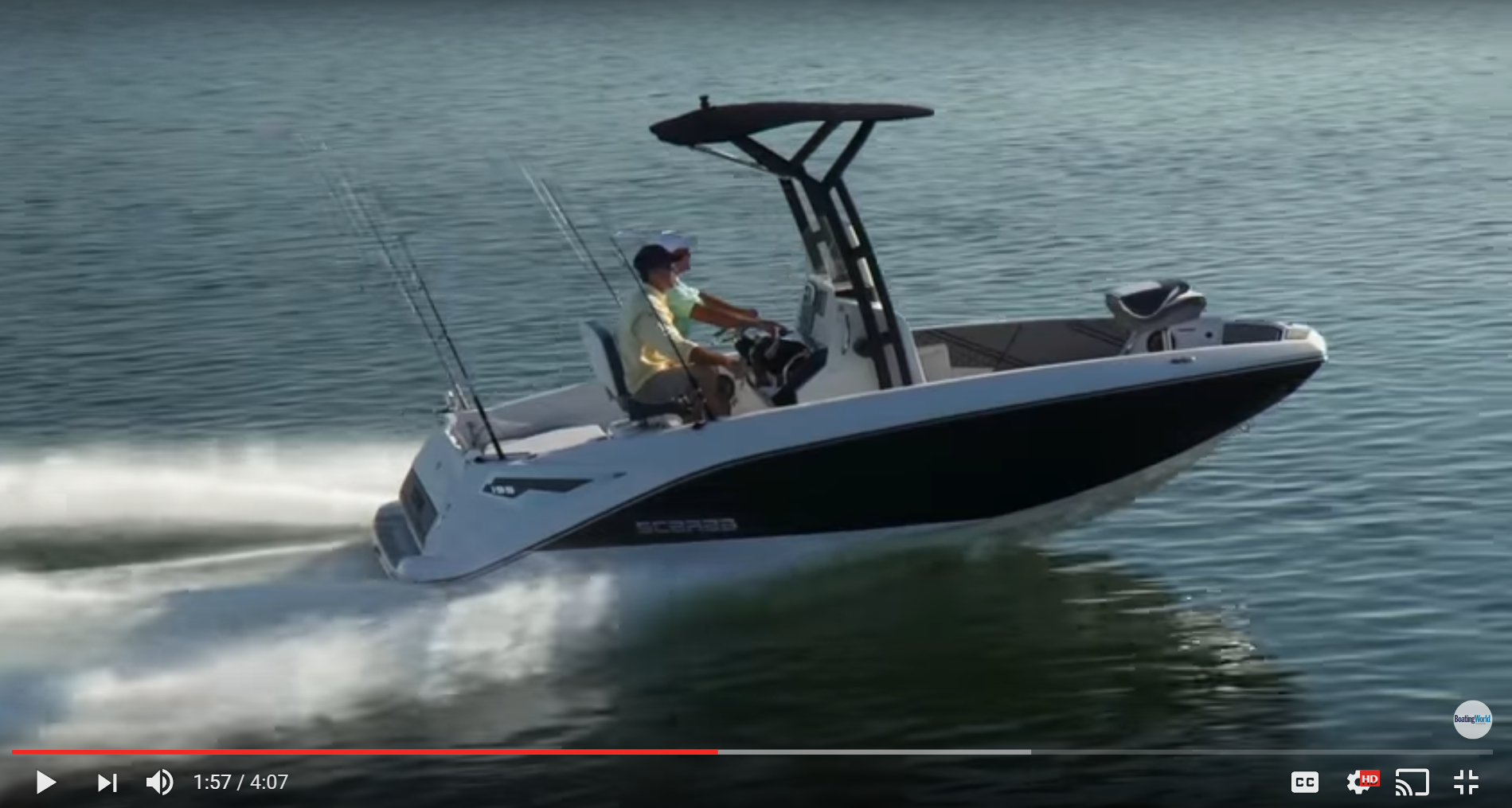 Scarab jet boats news events for Scarab 195 open fish